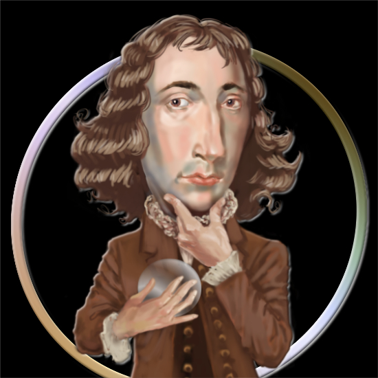 Spinoza was Dutch philosopher and one of the great rationalists, a leading figure of the Dutch Golden Age.